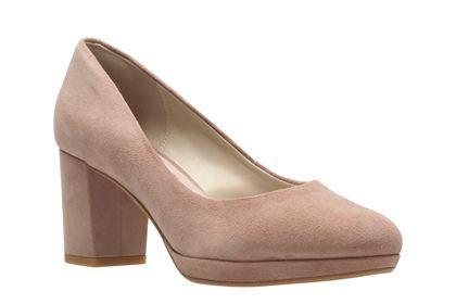 Clarks Kelda Hope - Dusty Pink - Womens Smart Shoes   Clarks