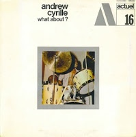 """Andrew Cyrille """"What About?"""" / Actuel 16"""