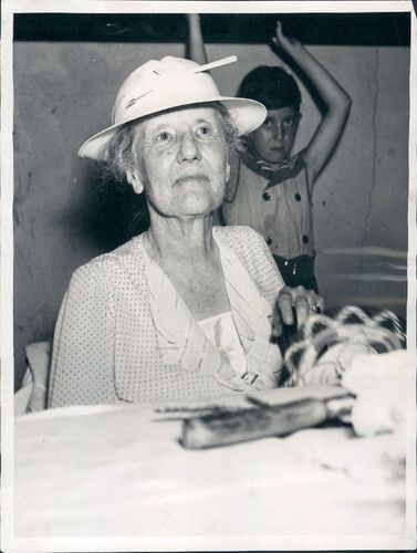 1938 Edith Roosevelt Wife of President Theodore Wire Photo | eBay