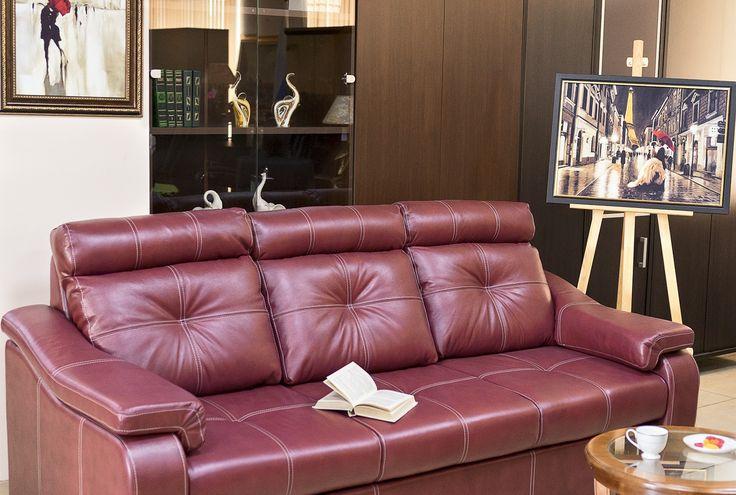 """Уютный кожаный диван """"Кёльн"""""""