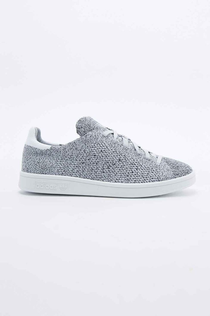 Adidas Stan Smith Knit Trainers in Grey