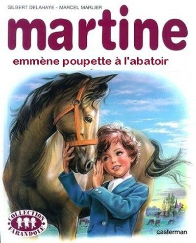 Oh, elle est gentille la petite Martine qui a accompagné l'enfance de pas mal de jeunes vingtenaire ou trentenaire. Ca c'était de la BD, où il se passait pas grand chose certes, mais justement rien d