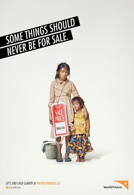 WorldVision poster (Canada, 2013)