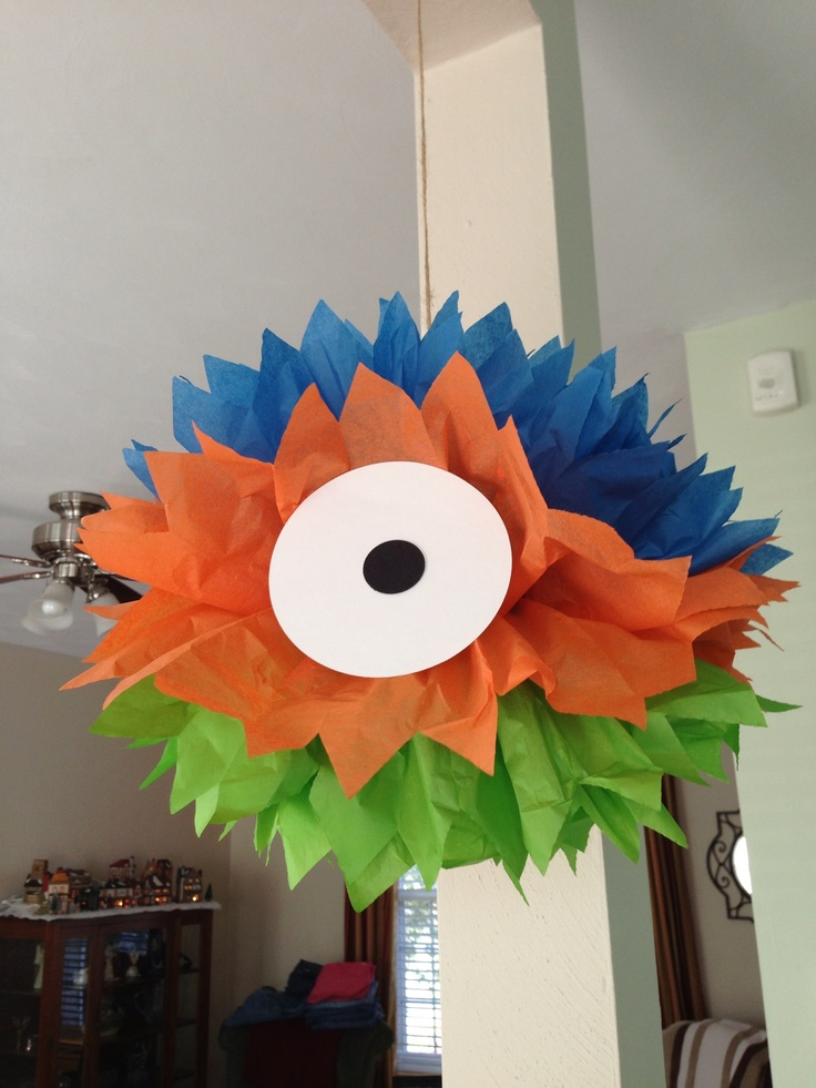 One eyed monster decorations