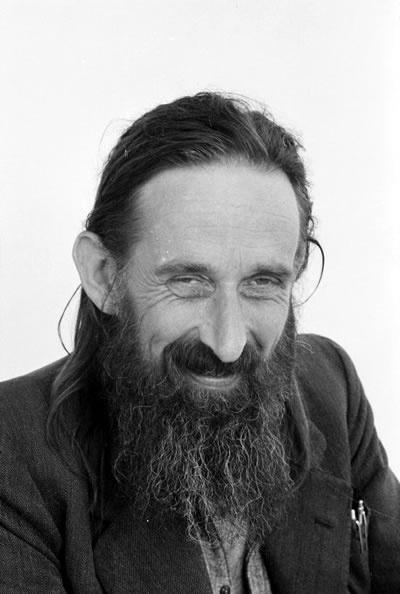 James K. Baxter, March 1971. New Zealand's greatest poet.
