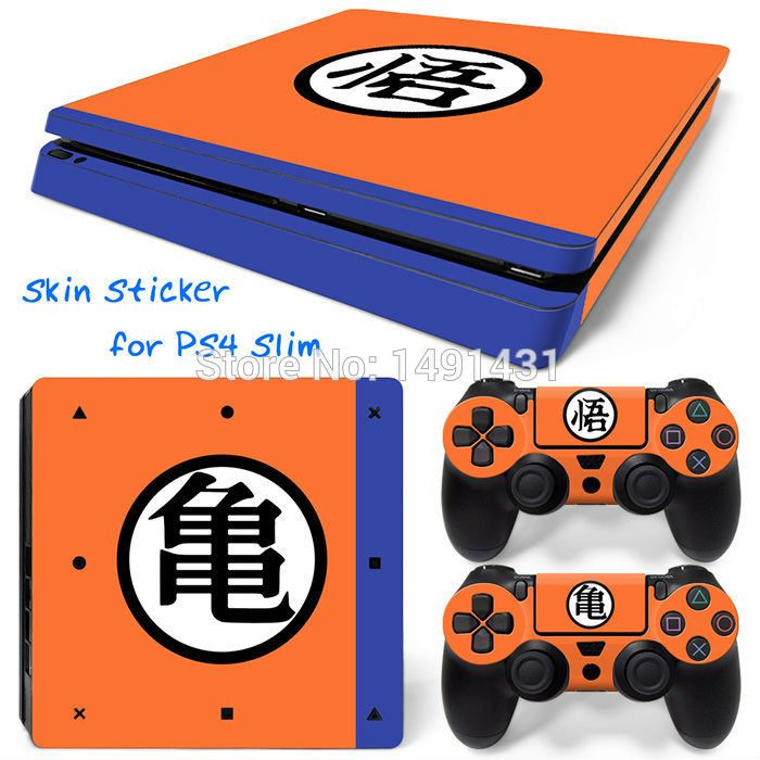 Video Game Decal Stickers For PS4 Slim Skin Sticker For Playstation 4 Slim Skin Cover