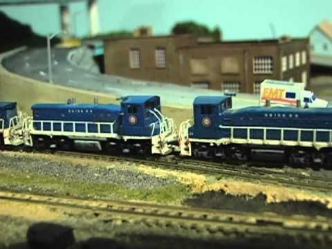 Model Train Layout. My N Scale Roster, Engines & Rolling Stock 2013 update!