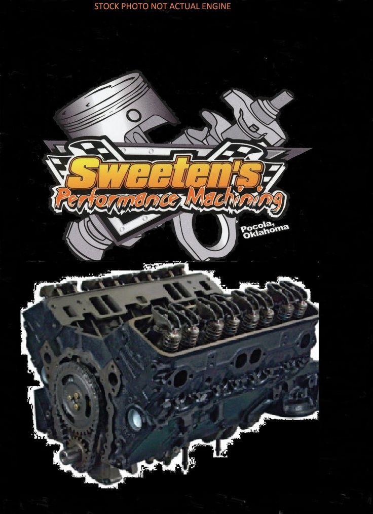 Chevrolet 350 V8 5 7 1970 1979 Long Block Remanufactured Engine   eBay