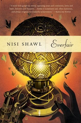"""Everfair"", by Nisi Shawl - Created jointly by Fabian Socialists from Great Britain and African-American missionaries, on land purchased from Belgian Congo's ""owner,"" King Leopold II, Everfair, is set aside as a safe haven, an imaginary Utopia for native populations of the Congo as well as escaped slaves returning from America. However as advances in steam technology are made, an uneasy truce between the country's many factions leads to a revolt against Leopold's harsh reign."