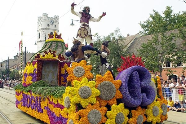 Debrecen, Flower Carnival