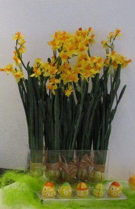 Narsissit voi laittaa näinkin