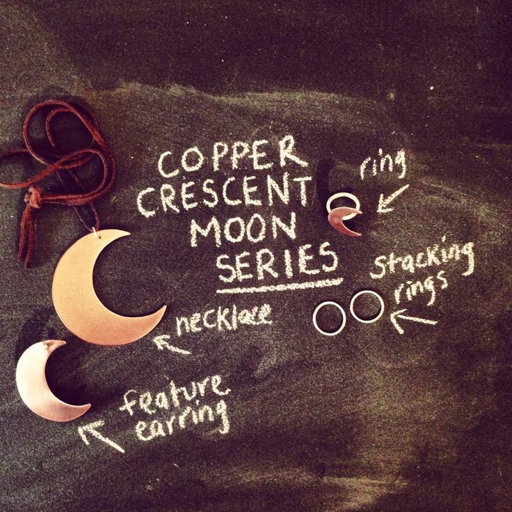 THE BLEACHERS Copper Crescent Collection