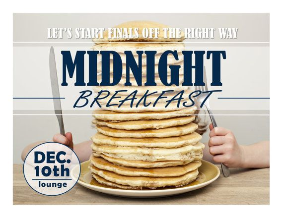 Midnight Breakfast RA ideas for social programming. Residence Life RAs can find dozens of ideas here. Good for resident assistants, hall directors and all other res life staff.