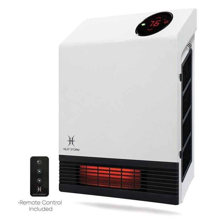 1000 Watt ~ Infrared Space Heater ~ Wall Mounted - Forced ...