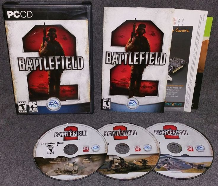 Battlefield 2 PC by EA Complete Military Combat Strategy Action Packed Shooting