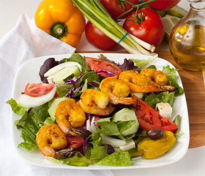 Shrimp Salad Traditional Dishes - Traditional Persian Dishes to Take Out, Catering
