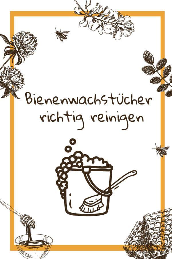 Wie pflegt man Bienenwachstücher richtig? 🧼🧽🚿