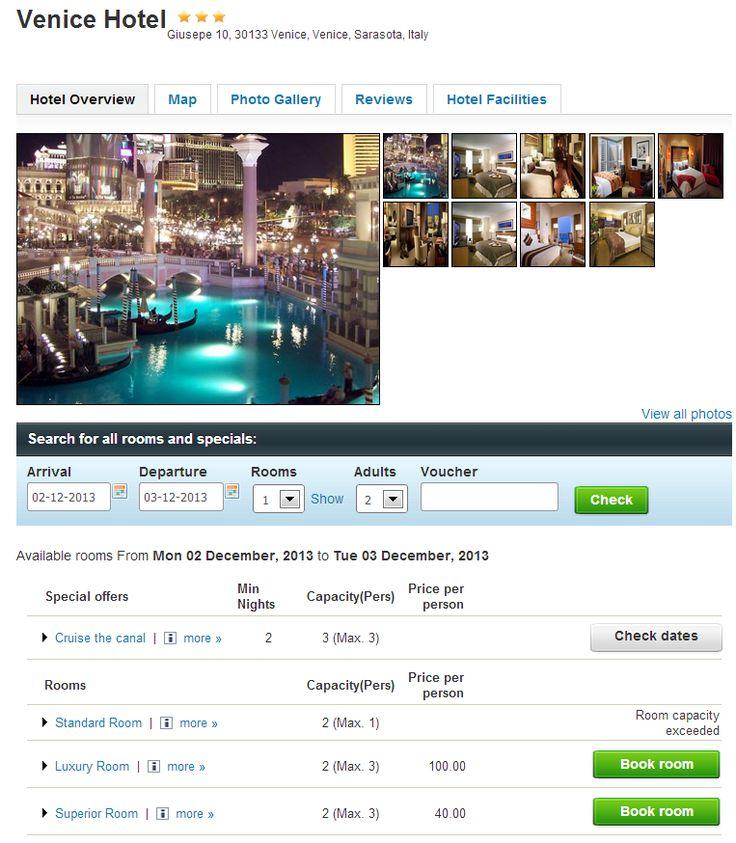 JHotelReservation Professional - Joomla Hotel Reservation Software - CMS Junkie