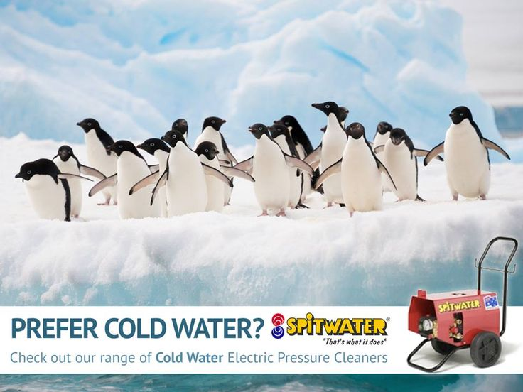 We have cold water pressure cleaners available too! Check out our full range of products.  #Spitwater #PressureCleaning #SpitwaterAustralia #Cleaning