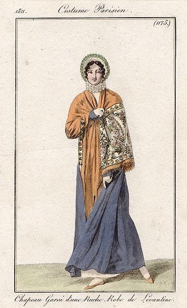 Costume Parisien (1175), 1811.