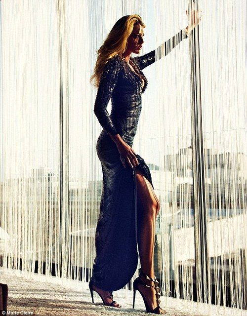 Blake Lively for Marie Claire