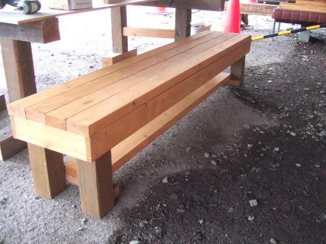 Diy Wooden Bench Furniture I Want To Build Pinterest Wooden Benches Beds And Foot Of Bed
