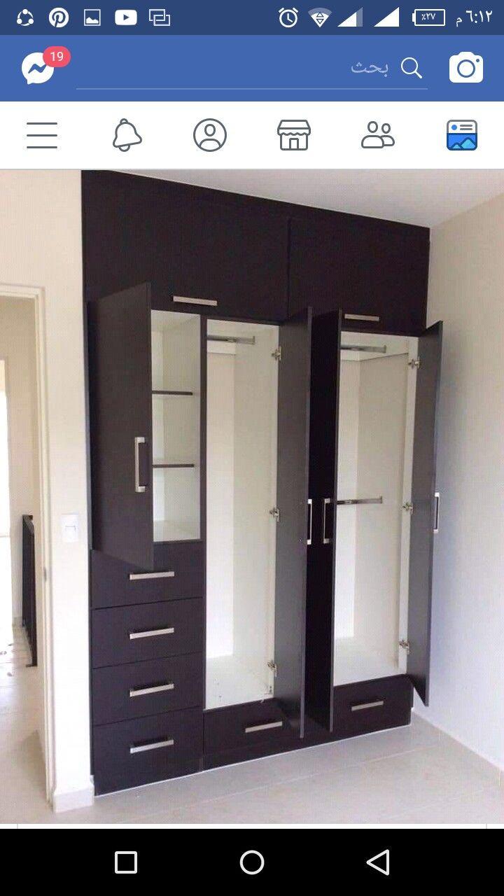 Pin By Sparky Bala On Decor Wardrobe Door Designs Closet Bedroom Bedroom Cupboard Designs