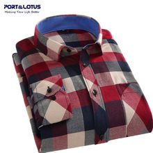 Like and Share if you want this  Port&Lotus Men Shirt 2016 Spring Autumn Casual Plaid Long Sleeve S-4XL Shirt Men's Clothes Mens camisa masculina107 wholesale     Tag a friend who would love this!     FREE Shipping Worldwide     #Style #Fashion #Clothing    Get it here ---> http://www.alifashionmarket.com/products/portlotus-men-shirt-2016-spring-autumn-casual-plaid-long-sleeve-s-4xl-shirt-mens-clothes-mens-camisa-masculina107-wholesale/