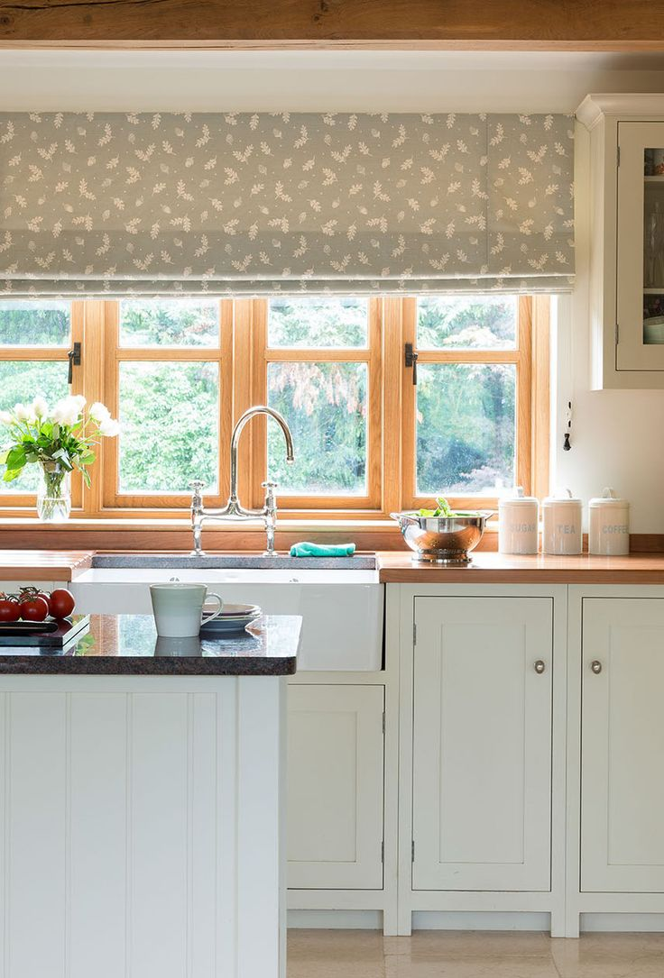 Best 25 vanessa arbuthnott ideas on pinterest country for Kitchen blinds ideas