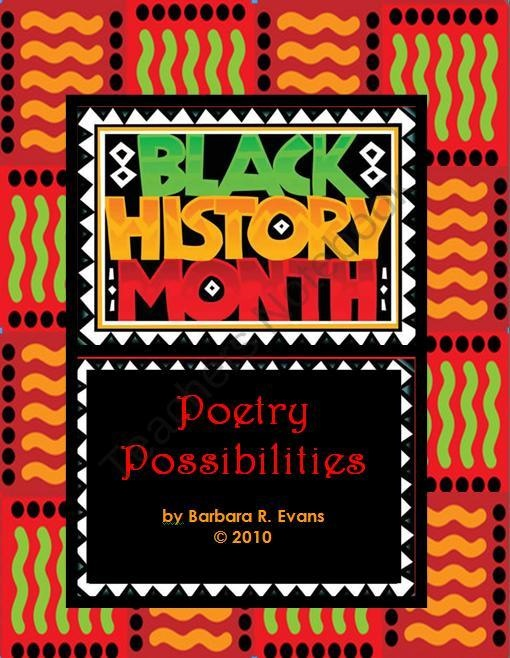 Black History Month Poetry Possibilities product from Its-About-Time-Teachers on TeachersNotebook.com