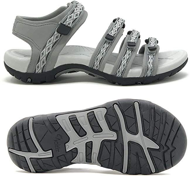 Amazon.com | Viakix Hiking Sandals for Women - Comfortable Athletic  Stylish, for Hiking, Outdoors, Walking,… | Hiking sandals, Hiking sandals  women, Stylish sandals