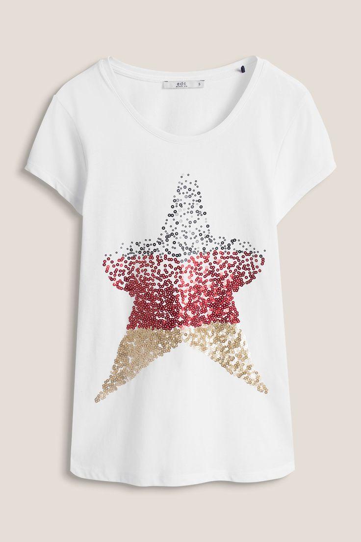 edc : Eurocopa: camiseta con lentejuelas en la Online-Shop