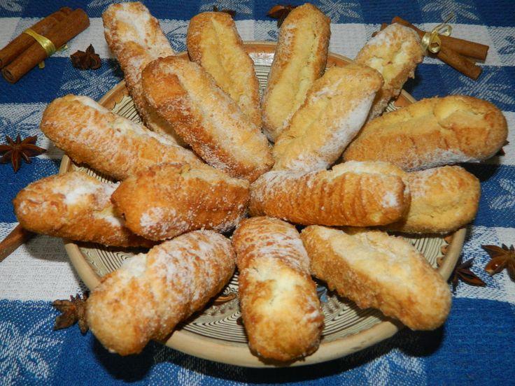 Biscuiti prajiti - banane prajite
