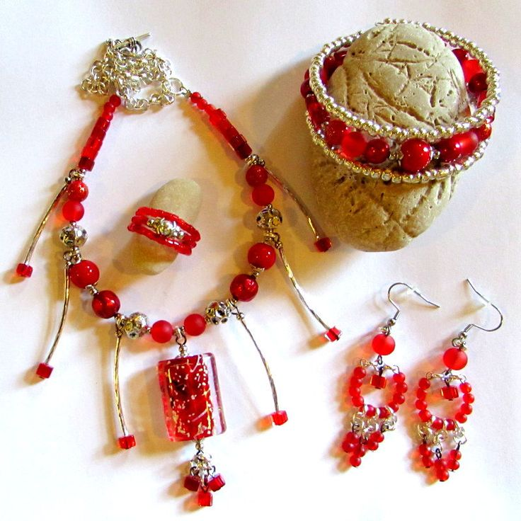 Chine in your hands - 5 pieces set by ClaraBijous on Etsy
