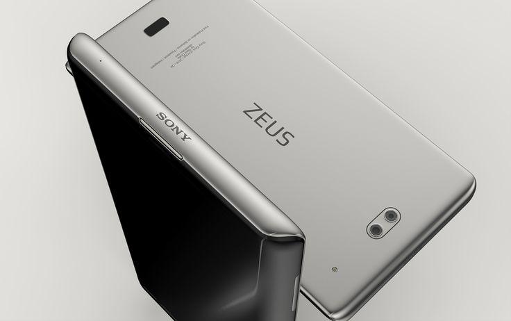 Sony Zeus concept smartphone on Behance