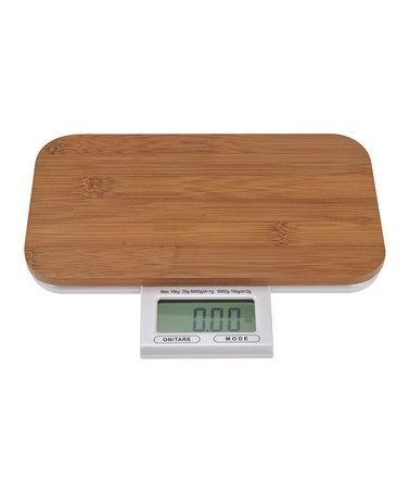Take a look at this Kalorik Electronic Bamboo 11-Lb. Scale by Kalorik on #zulily today!