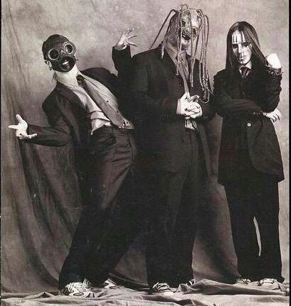 slipknot, sid wilson, and corey taylor image