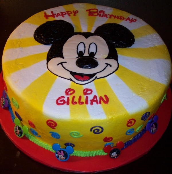 Cake Decorating Buttercream Transfer Community : 1000+ images about Gateau Mickey on Pinterest Mickey ...