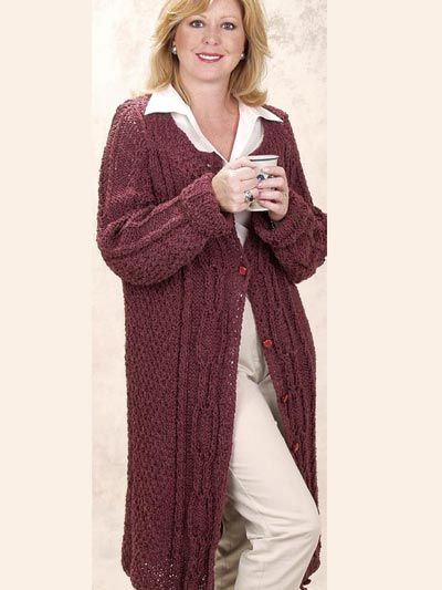 Best 25+ Knitted coat pattern ideas on Pinterest