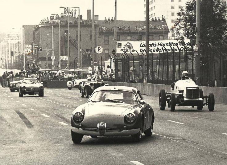 Vintage car race - Hamilton, Ont., Canada  1978