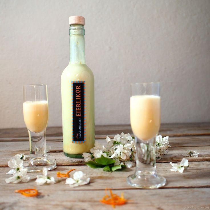 Pomarančový vaječný likér