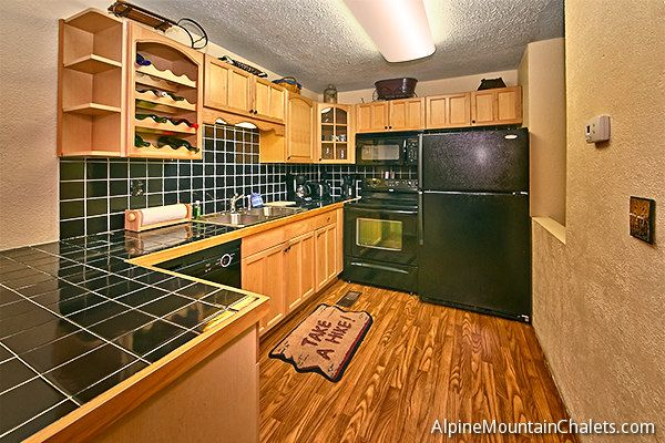 All of our downtown Gatlinburg condo rentals are fully furnished with all of the kitchen appliances you will need.