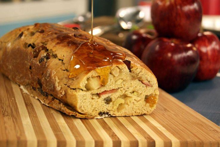 Pão de Aveia, Maçã e Mel | Receitas | Dia Dia