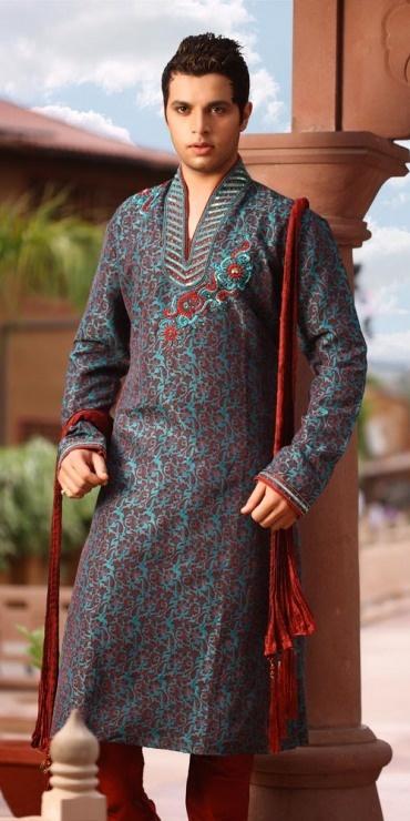 Mehndi Dress For men   New Kurta design for men's