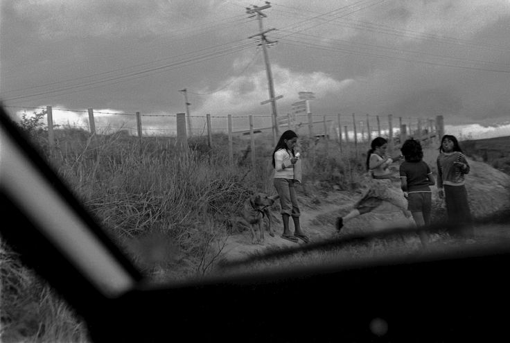 Lucien Rizos, Outskirts of Kaitaia, Northland, from A Man Walks Out of a Bar, 1979-1982