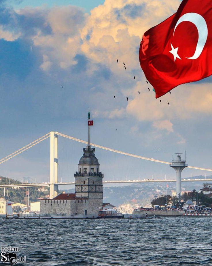 Türkiye İstanbul Kız kulesi