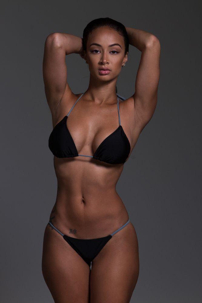 Small black tits