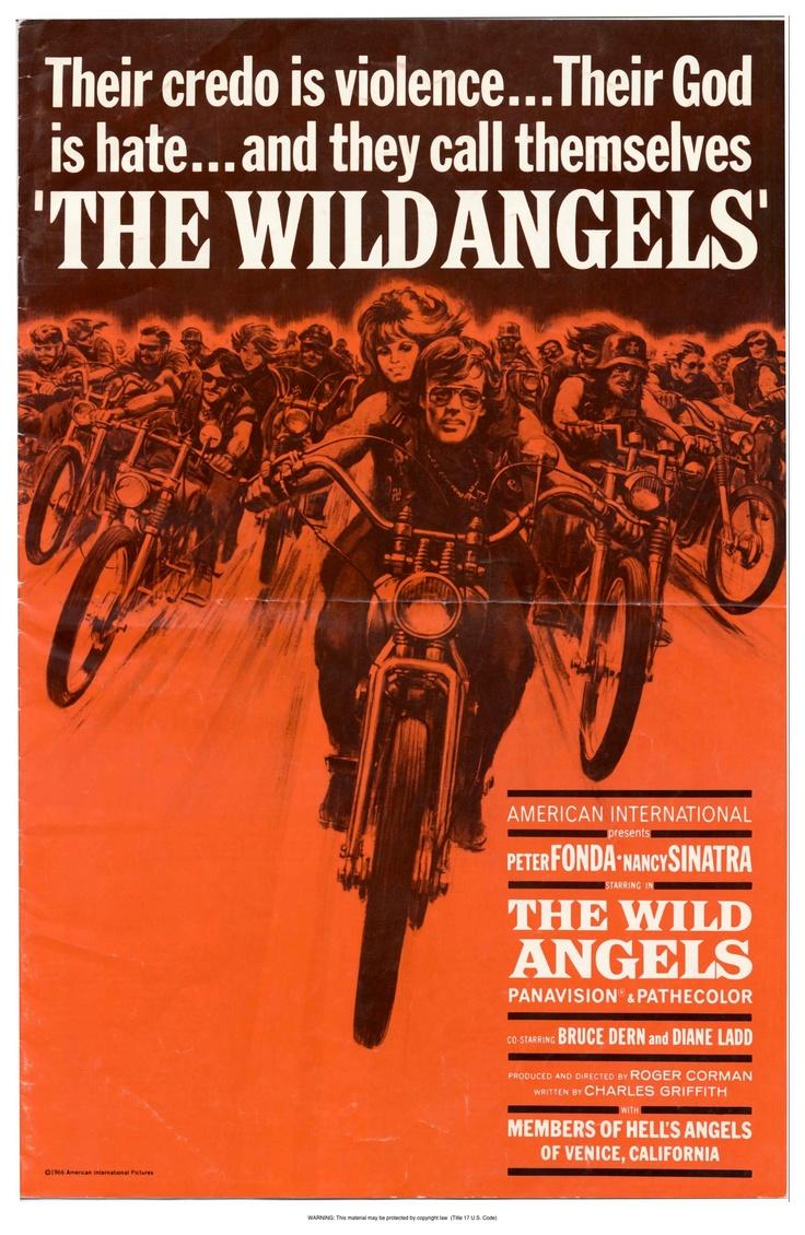The Wild Angels. Peter Fonda mental biker movie