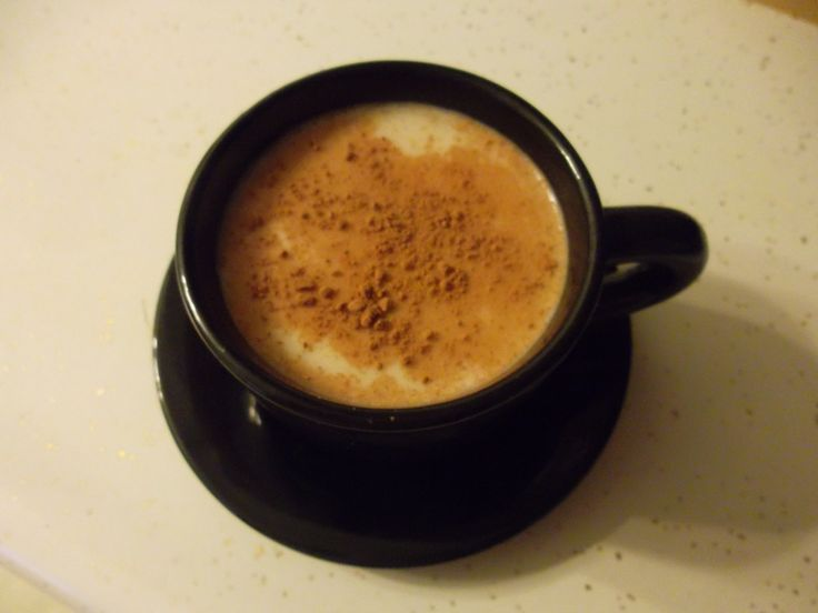 Coffee at home relaxing!  So delicious!