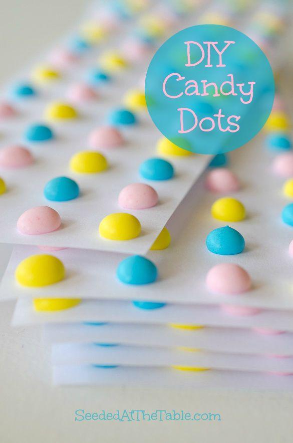 Homemade Candy Dots [& Hearts]